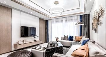 141m²现代轻奢风格新家,这样的设计我给满分!